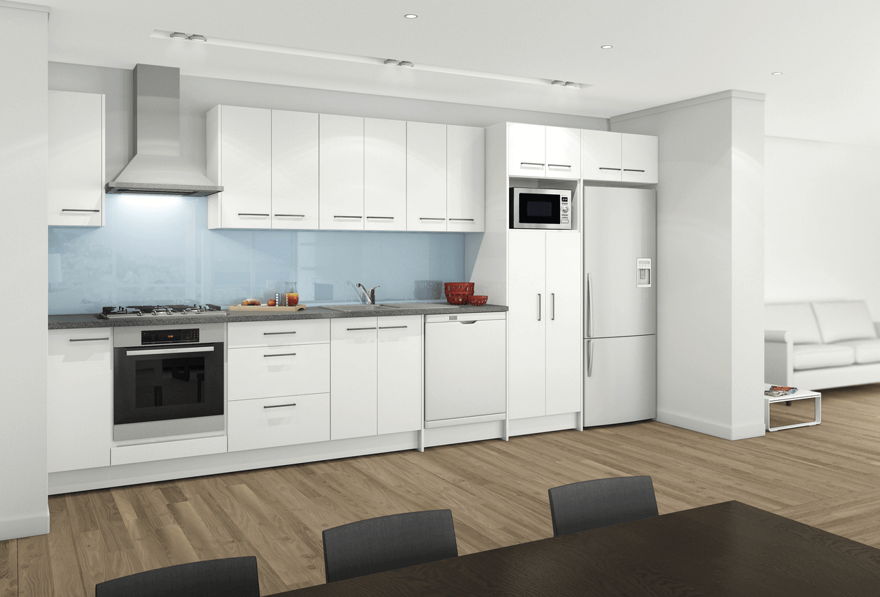 Straight Modular Kitchens in Ahmedabad, Surat | Pramukh Modular Kitchens