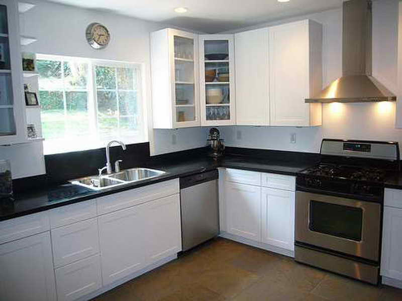 Kitchen Design For Small E L Shape Kitchen Appliances Tips And Review