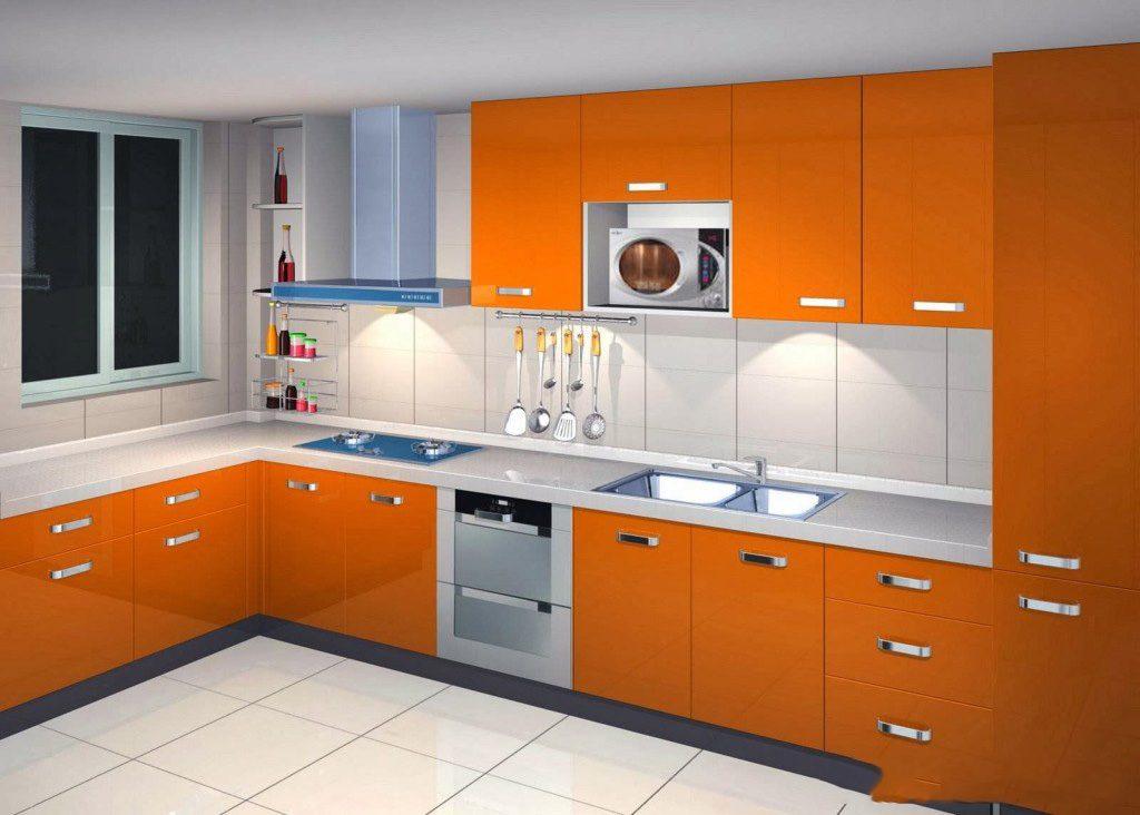 L - Shape Modular Kitchen