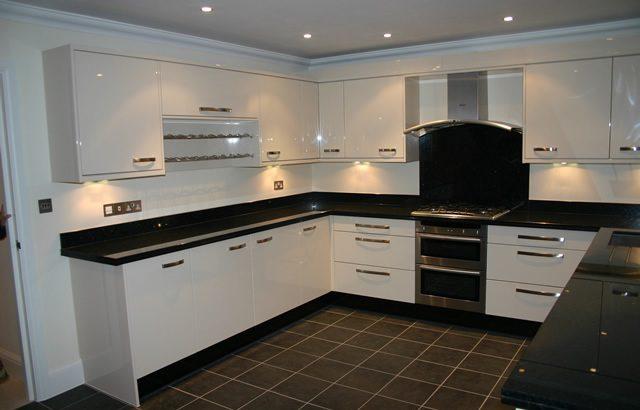 U Shape Modular Kitchens