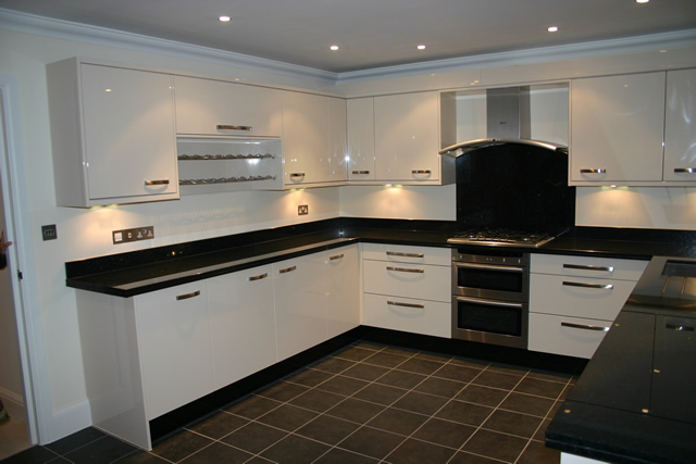 U Shape Modular Kitchens