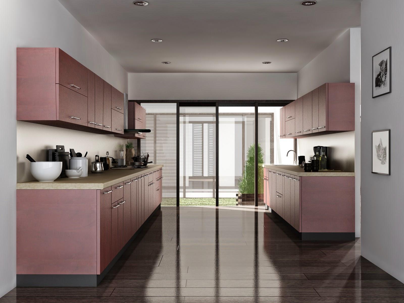 Pramukh modular kitchen for Parallel modular kitchen designs india