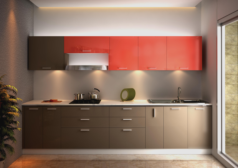 Pramukh modular kitchen for Small modular kitchen